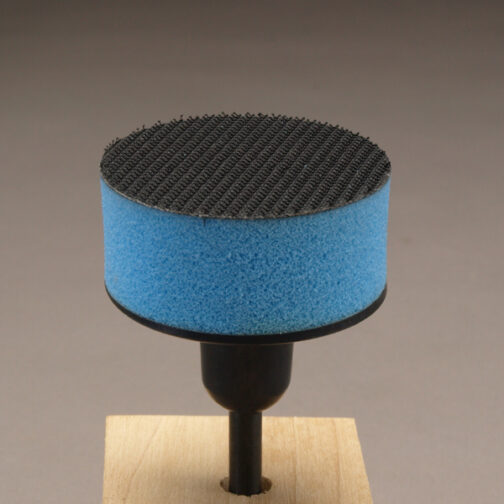 2 inch diameter flexi pad for dremel rotary tool for hook and loop sanding discs