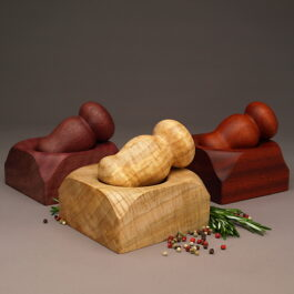 Group of mortar and pestles by ted sokolowski