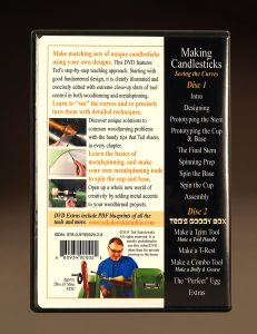 Making Candlesticks Seeing the Curves DVD back cover