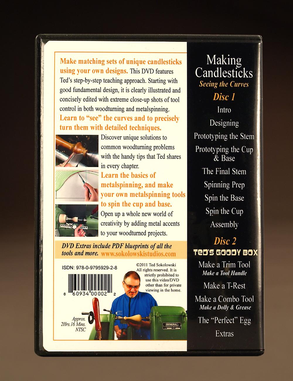Making Candlesticks - Seeing the Curves DVD - Sokolowski Studios