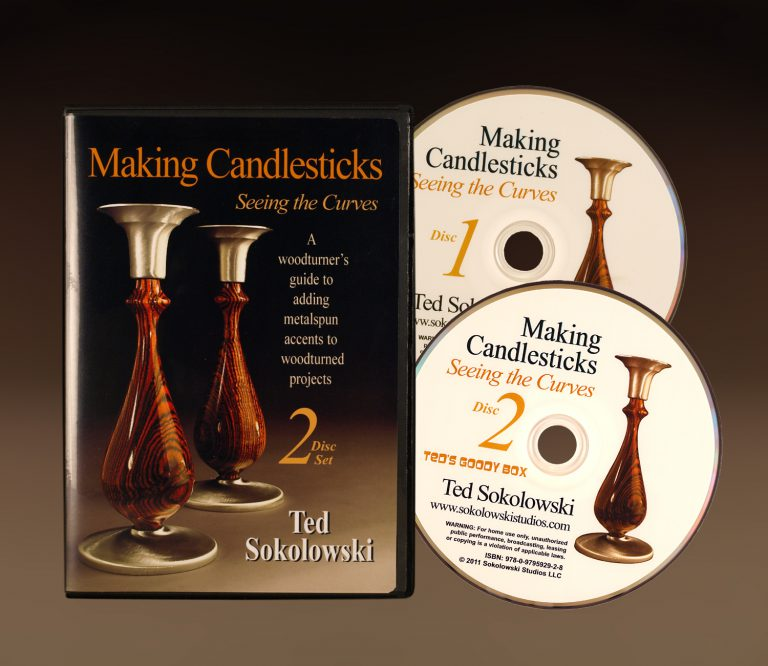 Making Candlesticks DVD cover with discs