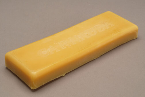 Carnauba wax bar 3 oz. for buffing to high gloss