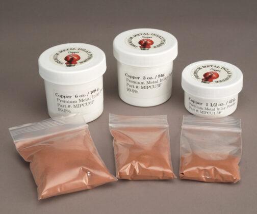 Premium metal inlay Copper powders
