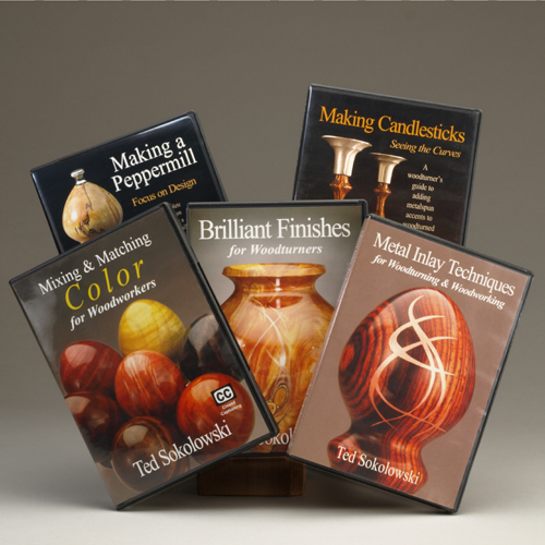 Woodturning DVD's by Ted Sokolowski