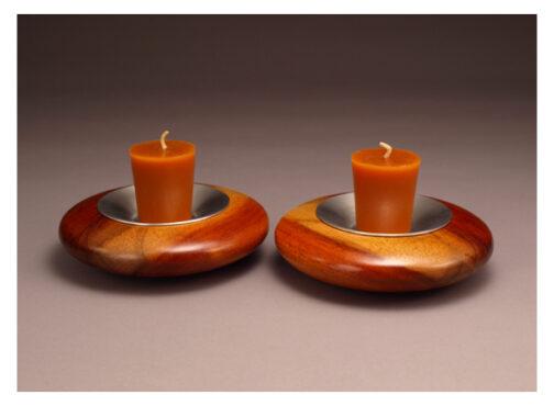 Flat Votive candlesticks