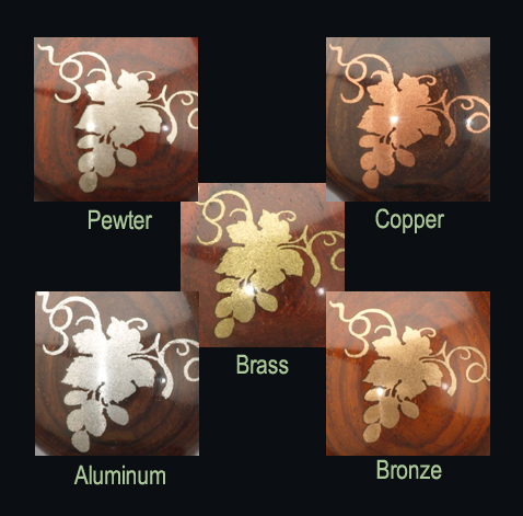 Premium Metal Inlay Powder: Brass
