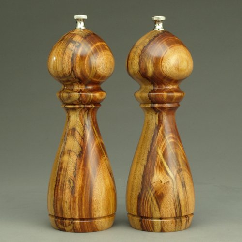 Jobillo set of 8 inch peppermills by ted sokolowski