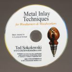 Metal Inlay Techniques for Woodturning & Woodworking DVD
