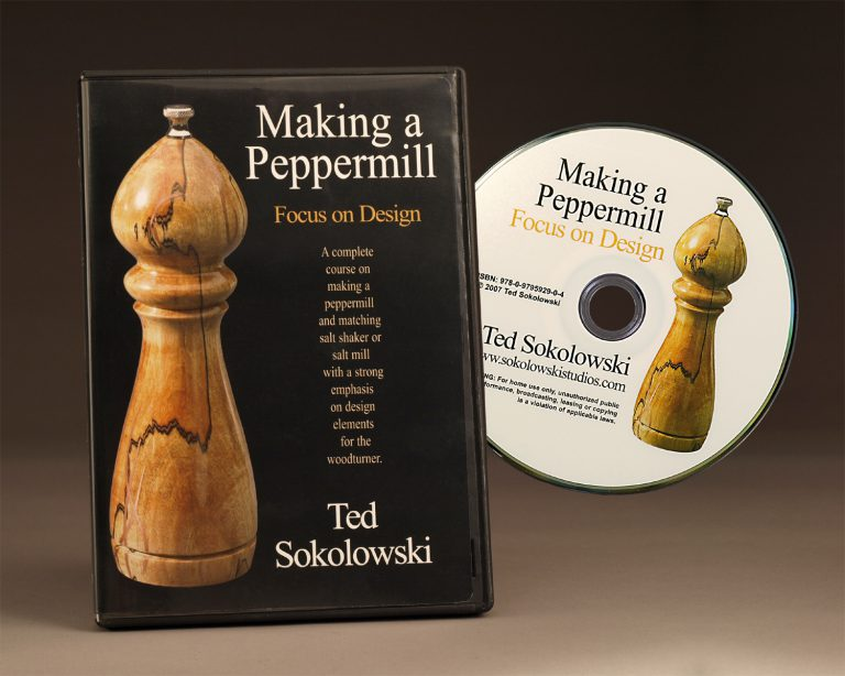 Making a Peppermill Focus on Design DVD by Ted Sokolowski