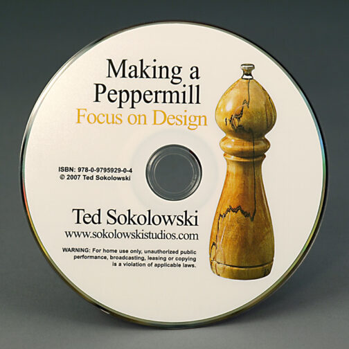 Making a Peppermill Focus on Design DVD Disc