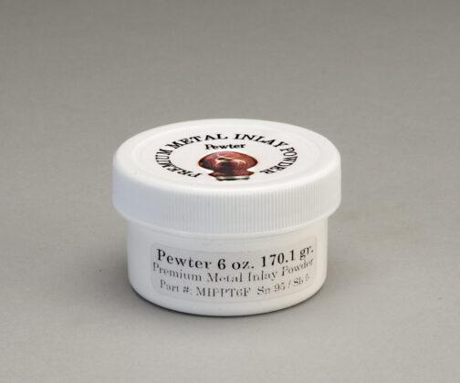 Pewter premium metal inlay powder 6 oz.