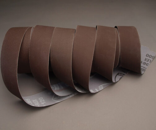 "Klingspor Aluminum Oxide Sandpaper 2"" x 25 yds. Shop Rolls as used in Brilliant Finishes for Woodturners"