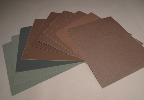 Klingspor Sandpaper Sampler pack as used in Brilliant Finishes for Woodturners