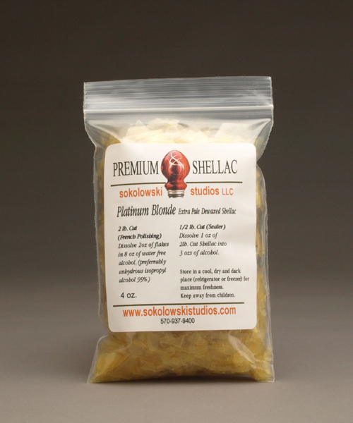 Platinum Blonde Shellac Flakes 4 oz.