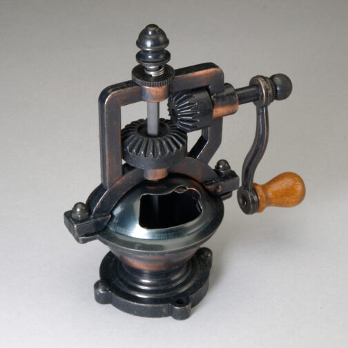 Antique Style Copper Finish Peppermill Mechanism.