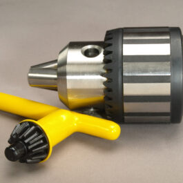 Jacobs Drill Chuck with JT6 taper and morse taper adapters