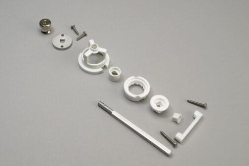 Chef Specialties ceramic salt grinder kit mechanism 3.5 inch