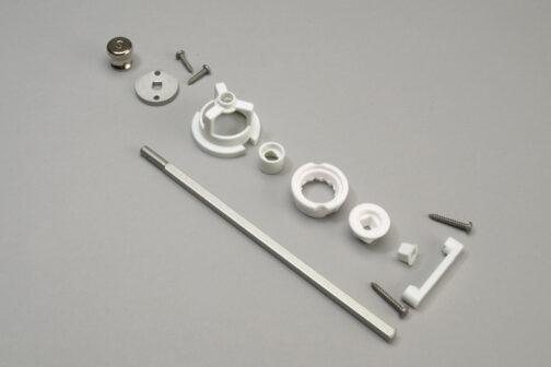 Chef Specialties ceramic salt grinder kit mechanism 6 inch