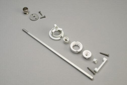 Chef Specialties ceramic salt grinder kit mechanism 8 inch