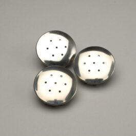 Stainless Steel Salt Shaker Caps Set of 3