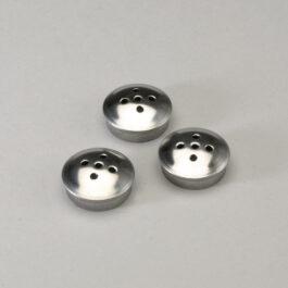 Stainless Steel Salt Shaker Caps Set of 3 – Set of 3 Small Salt Caps 13/16″