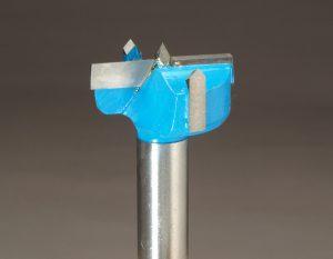 Carbide forstner bit Close up