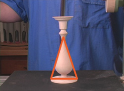 Visualizing the internal elements on Making Candlesticks DVD