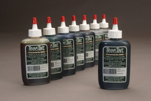 8 Transtint dye kit as used on the Mixing & Matching Color for Woodworkers DVD