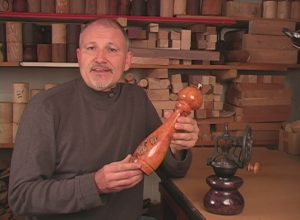 Ted Sokolowski on the Brilliant finishes DVD for Woodturners