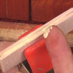 Tips on veneer repair and applying the correct amount of glue.