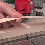 Making a strip of veneer for repair of a bookcase on Mixing and Matching colors for woodworkers