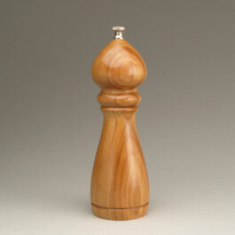 8″ Traditional Peppermill Single – Canarywood