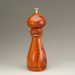8″ Traditional Peppermill Single – Orange Agate