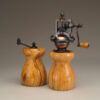 Olive Wood Salt Mill and Peppermill set by Ted Sokolowski