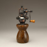Antique Style Pepper Mill in Bocote