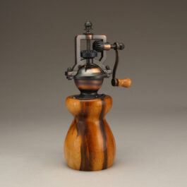 Jobillo Antique Peppermill by Ted Sokolowski