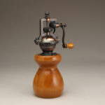 Antique Style Pepper Mill in Pear
