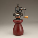 Antique Style Pepper Mill in Purpleheart