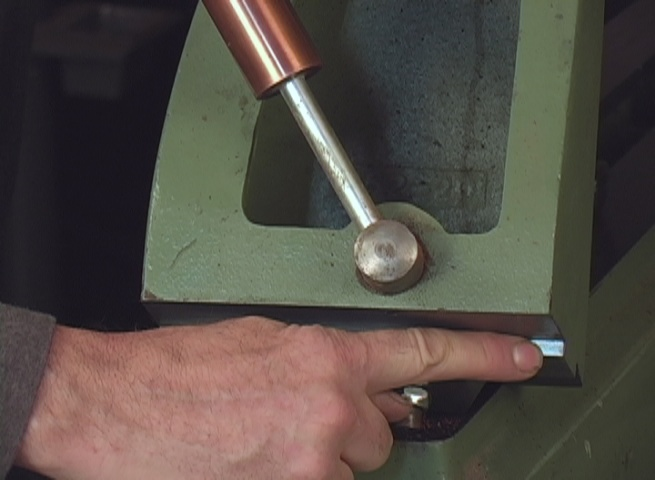 Dimple Position on Tailstock Base-Maintain your lathe's tailstock