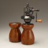 Cocobolo 1 Salt Shaker and Peppermill set by Ted Sokolowski