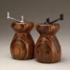 Jobillo Ceramic Top Wind Pepper and Salt Mill Set