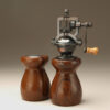 Cocobolo 4 Salt Shaker and Pepper mill set by Ted Sokolowski