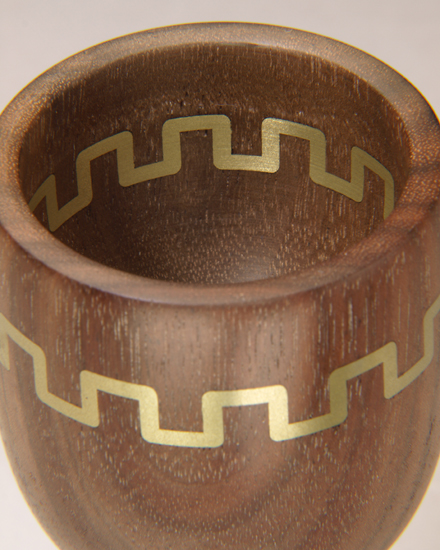 Metal Inlay Technique in Goblet Close Up