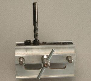 Dowel Jig with Twist drill bit