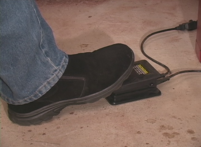 Rotary Tool Foot Pedal Speed Control