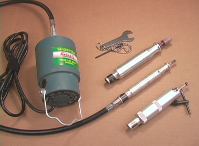Grizzly Rotary Tool with Handpieces