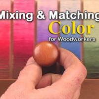 Basics of Mixing and Matching colors for woodworkers