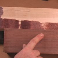 Matching black walnut with transtint dyes as featured in Mixing and Matching color for woodworkers
